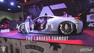 THE LARGEST TURNOUT AUTOCON LA FT. TJ HUNT