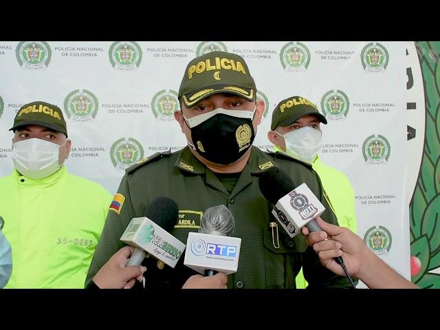 POLICÍA NACIONAL ADELANTA INVESTIGACIONES EN HURTOS COMETIDOS EN PUERTO BERRÍO.