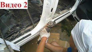 Как сделать лимузин своими руками, разрезаем пополам Infiniti QX56