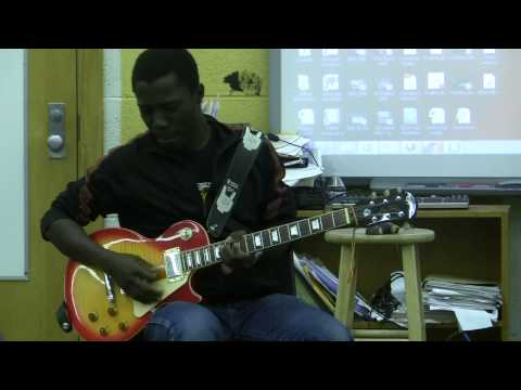 Camp Jam SUPERJAM 2014 Contest - Little Wing Jam session - Jeffrey Attakorah