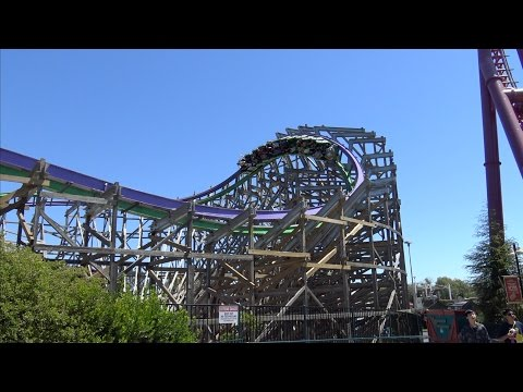 Six Flags Discovery Kingdom August 2016 Vlog HD