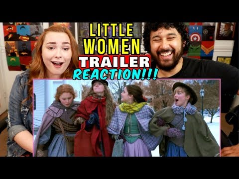 LITTLE WOMEN | TRAILER (2019) - REACTION!!!