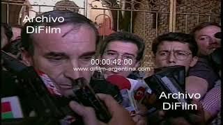 Luis Patti habla del caso Maria Soledad Morales 1997