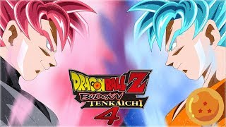 [FR] Dragon Ball Z budokai Tenkaichi 4 Episode 3 - BLACK GOKU ROSE | Gameplay Francais