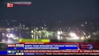 BMKG Pacific: Gempa Jepang Tidak Berdampak Ke Indonesia