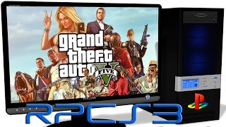 RPCS3 PS3 Emulator - GTA 5 (2013). Ingame. OpenGL (Auto LLE). Test #1