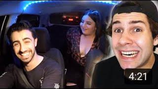 Fangirling Over David Dobrik (Funny Uber Rides)