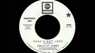 Holly St. James - That