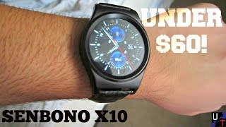 SENBONO X10 Bluetooth Smartwatch Unboxing & First Impressions!