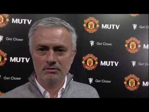 "Jose Mourinho ""BIZARRE""Post Match Interview Man United 2 0 Crystal Palace"