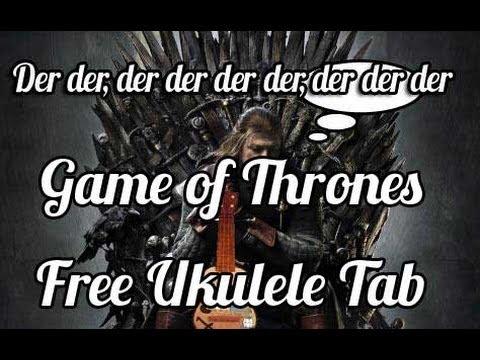 Game Of Thrones Theme For Ukulele Chords Chordify