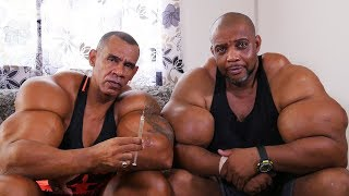 'Hulk' Brothers Risk Death By Injecting Muscle-Building Chemicals | HOOKED ON THE LOOK thumbnail