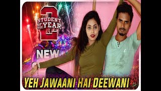 The Jawaani Song Dance Video Student Of The Year 2