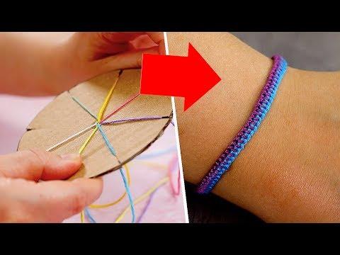 DIY Friendship Bracelets for Beginners   Craft Factory