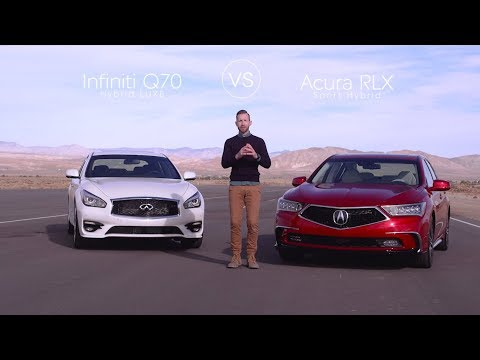 Infiniti Q70 Vs Acura Rlx Video Review Comparison