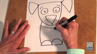 Teaching Kids How to Draw: How to Draw a Puppy