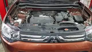 Mitsubishi Outlander III  2,0 б. При работе кондиционера появляется свист при определённых оборотах.