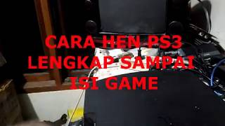 cara HEN ps3 sampai isi game (4.82/4.83/4.84/4.85)