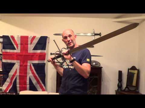 The Blade Horns Or Lugs On Two Handed Swords Aka