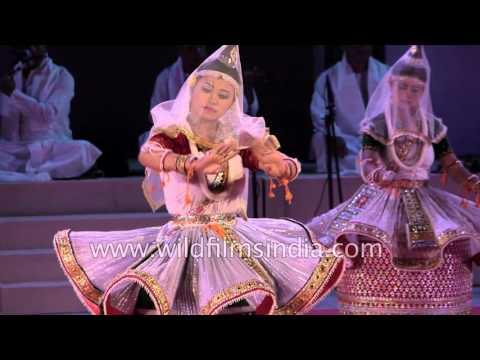 Manipuri classical dance Basanta Raas