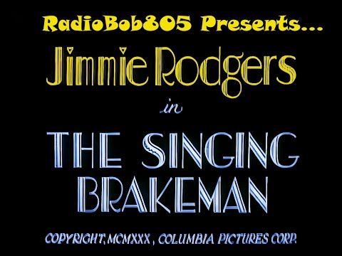 Jimmy Rodgers - The Blue Yodeler who died in 1933. The father of country music.