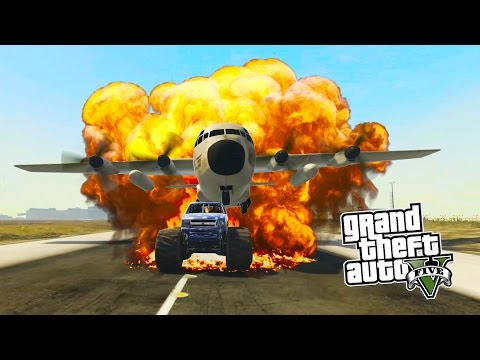 GTA 5 PS4 - STUNTS AND FAILS! LEARNING TO STUNT IN GTA 5 ONLINE! (GTA 5 PS4 Gameplay)