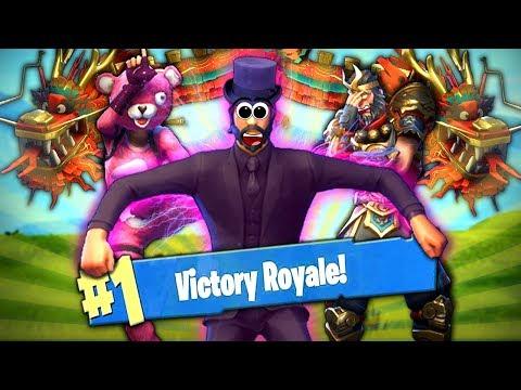 Mit ZOMBEY Gewinnen!? - Fortnite Battle Royale