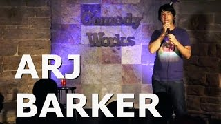 arj barker kids at airports comedy works
