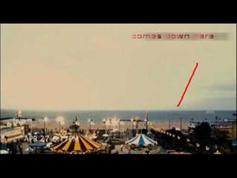 Cloverfield UFO splash down