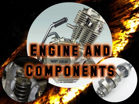 How A Motorcycle Works Ep. 3: The Engine and Components.