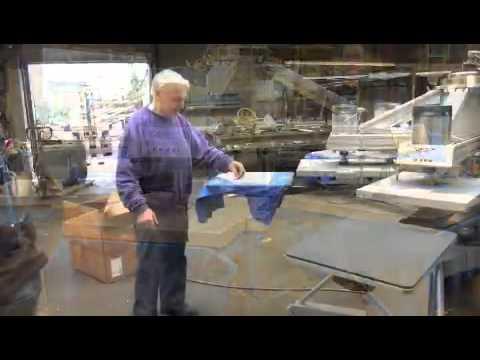 Textile heat transfer carousel