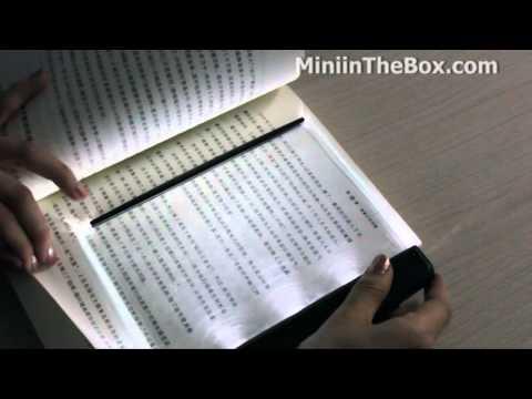 LED Book Reading Lightwedge From MiNiInTheBox.mp4
