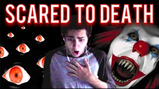 SCARED TO DEATH BY HALLOWEEN GAME?! - DEATH HOUSE