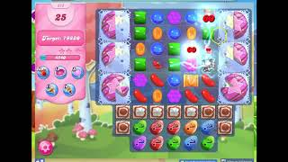 Candy Crush Level 373 Audio Talkthrough, 1 Star 0 Boosters