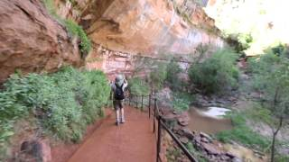 Utah Zion National Park: Hiking Emerald Pool Trail