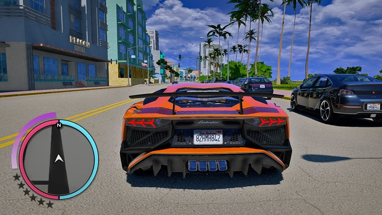 GTA 6 MOD - ULTRA GRAFIK in VICE CITY!