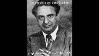 zamindar 1942 log mujh ko khush samajhte hai magar main gham mein hoon ghulam haider