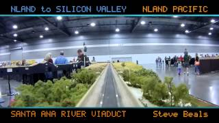 NTS Portland 2015 Free-Mo Cabride HYPERSPEED - N Scale - LARGEST EVER FREE-MO N-SCALE LAYOUT