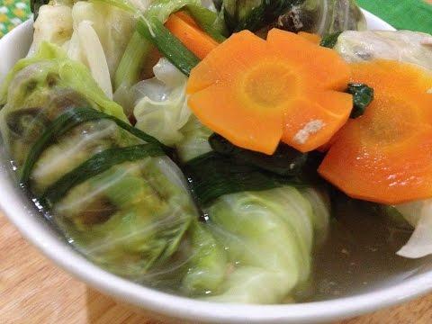 Cách làm thịt cuốn bắp cải - Món ngon dễ làm