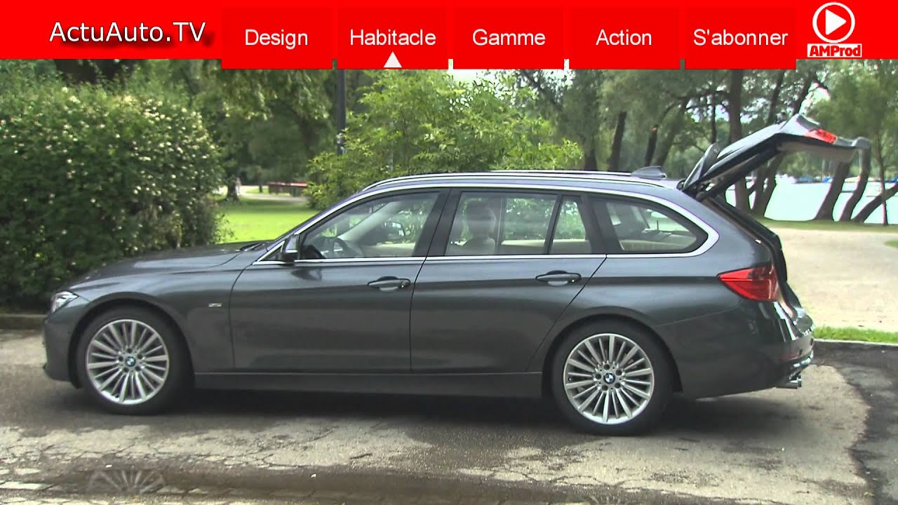 la nouvelle bmw s rie 3 touring f31 youtube