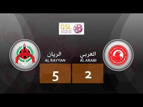 Al Rayyan 5 - 2 Al Arabi (week 6)