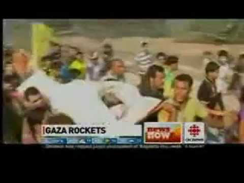 CBC Erroneously Claims That Zero Rockets Have Been Fired at Israel From Gaza in Past Year