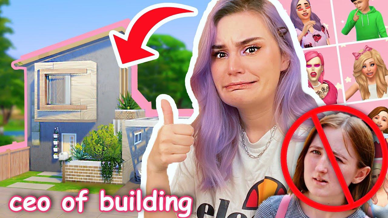 I built an 8 SIM TINY HOUSE and ended lilsimsie's career