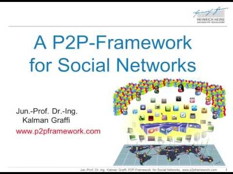 Overview on the P2P Framework for Social Networks