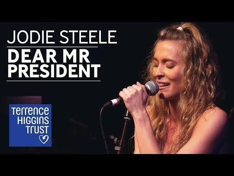 Jodie Steele - Dear Mr President (Pink)   The Musical Marathon 2018
