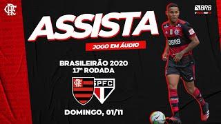 Flamengo x São Paulo AO VIVO na FlaTV   Brasileiro 2020