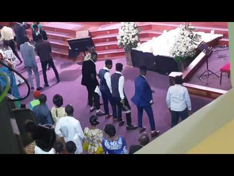 Ghana boys church dancing