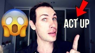 """""""ACT UP""""   ENGLISH PHRASAL VERBS"""