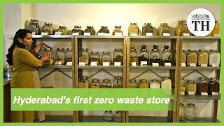 First zero waste grocery store in Hyderabad