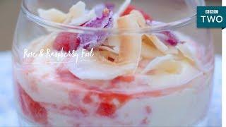 Rose & Raspberry Fool   Nadiya's British Food Adventure: Episode 8 - BBC Two